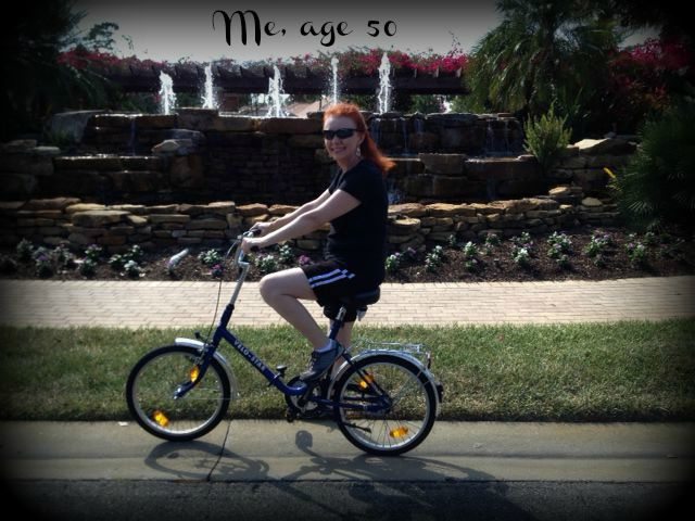 Jan on Bike Vacation