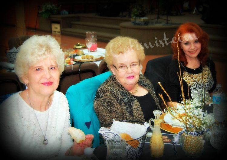 Mom McIntyre, Mom Leverett, and Me